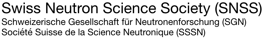 Swiss Neutron Scattering Society